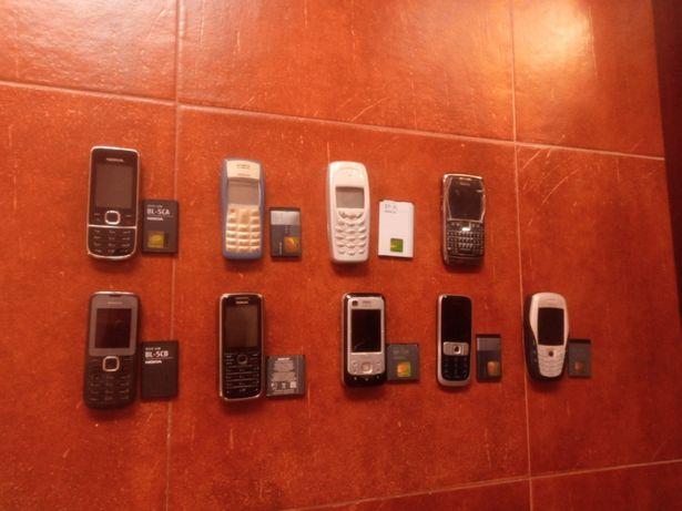Lote Nokia antigos,dos mais fiáveis!