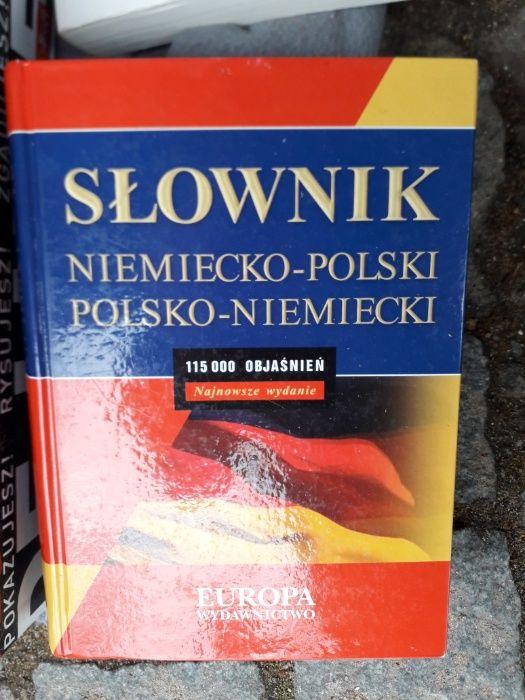 Słownik niemiecko-polski/ polsko- niemiecki Wrocław - image 1