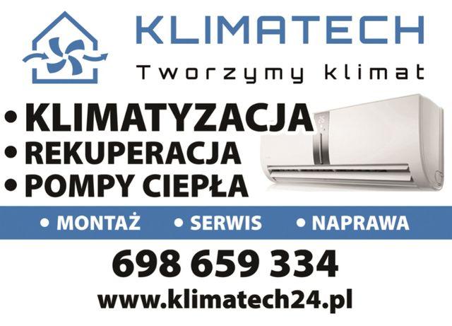 Montaż klimatyzacji, wolne terminy!!