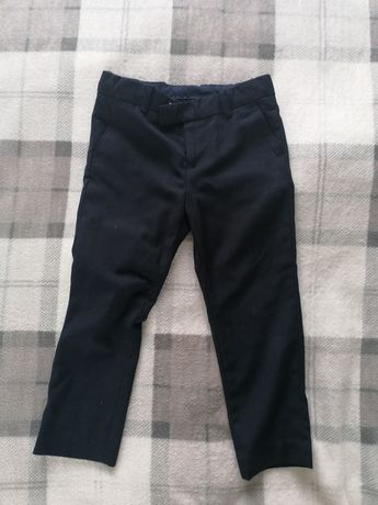 Eleganckie garniturowe spodnie chłopięce 104 h&m wizytowe