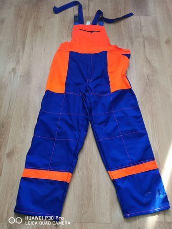 Dwie pary spodni roboczych drelich