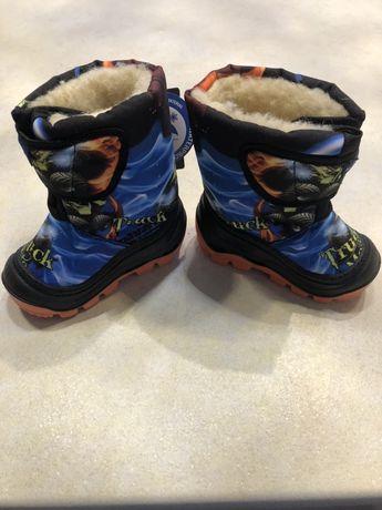 Buty zimowe chłopięce śniegowce rozmiar 21/22 Monster Truck NOWE
