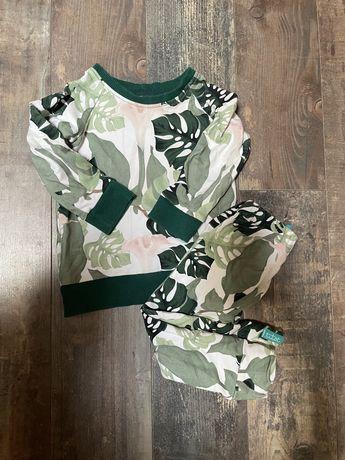 Przepiękny komplet dres spodnie i bluza Titot r. 86