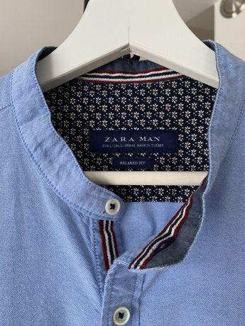 ZARA koszula męska błękitna