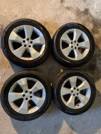 Литі диски, титани Subaru Forester R17