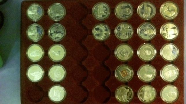 Монети України 2, 5 гривень (в т.ч. біметалеві)
