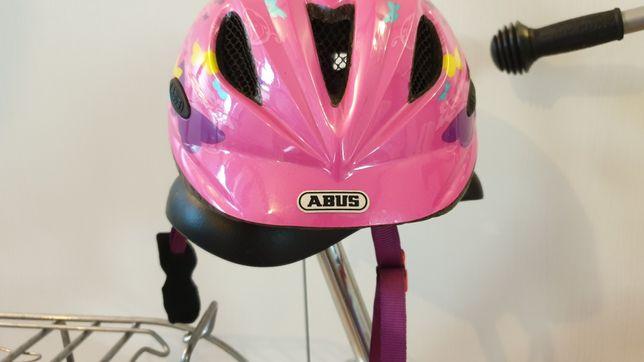 Kask rowerowy dziewczęcy ABUS rozmiar 52-57