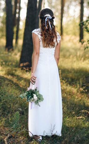 Плаття для розпису, весілля