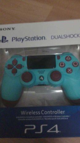 Pad Bezprzewodowy Sony Dualshock 4 Ps4 V2 Berry Blue Nowy