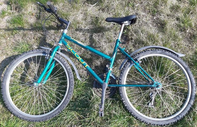 """Rower dla starszego dziecka SCOUT Mustang 24"""" 18 biegów"""