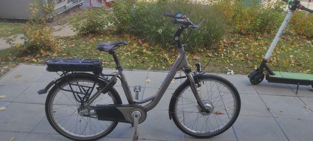 "Rower elektryczny Winora 26"" bateria 36v"