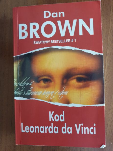 "JAK NOWA! D. Brown ""Kod Leonarda da Vinci"", NA PREZENT!"