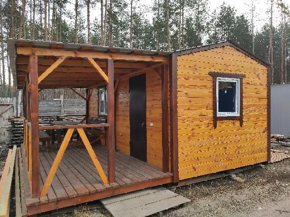 Дачные деревянные садовые домики.