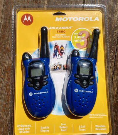 Рация Motorola T4800 (2 шт в комплекте)Нові