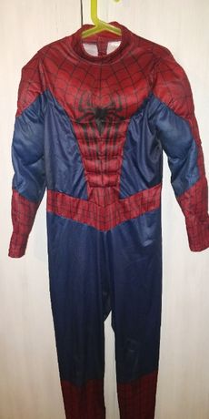 SPIDERMAN kostium karnawałowy przebranie strój 128-134