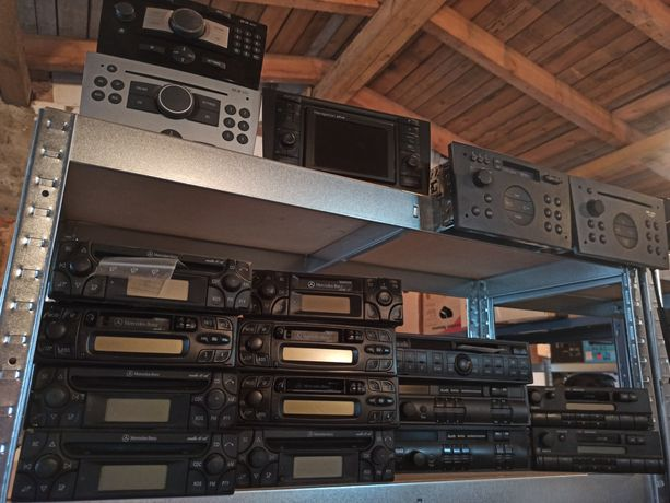Oryginalne radio pakiet radia oryginalne radio mercedes audi vw