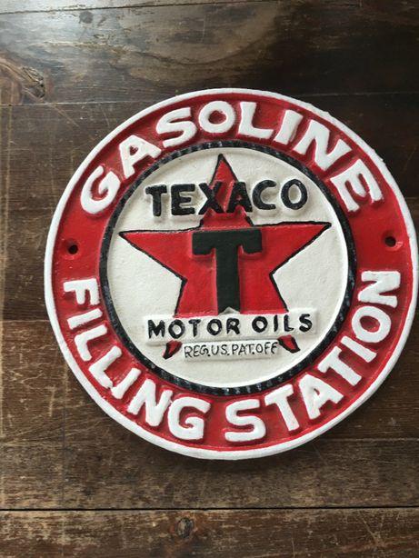placa Texaco automobilia