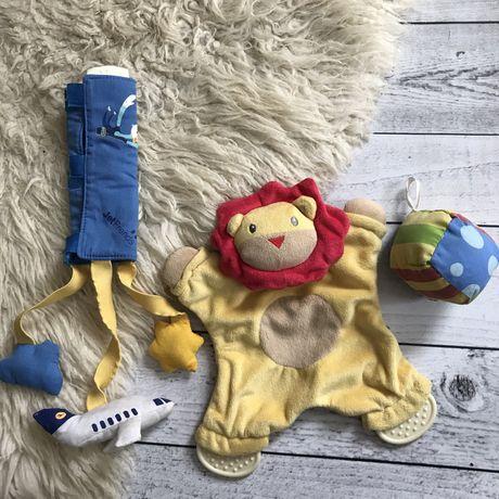Набор игрушек на коляску кроватку понремушка грызунок