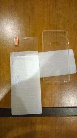 Capa e proteção de ecrã Huawei P8