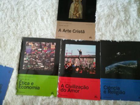 Livros de Educação Moral e Religiosa 10, 11 e 12 ano todos