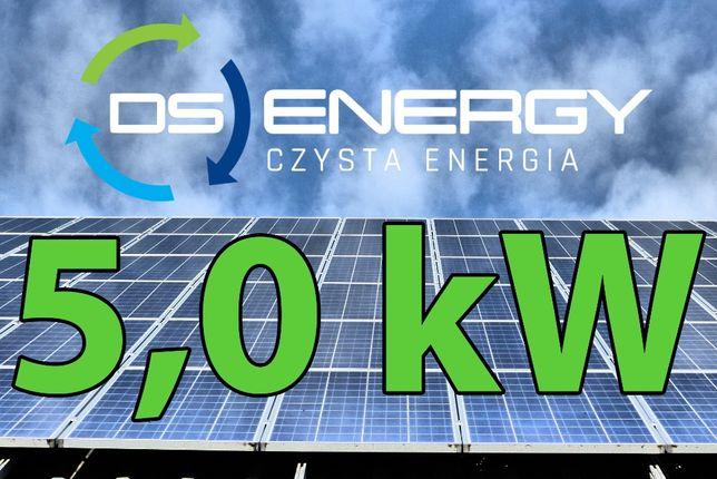 Instalacja fotowoltaiczna 5,0 kW Śląsk fotowoltaika Longi