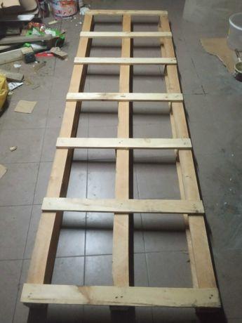 Paleta długa drewniana