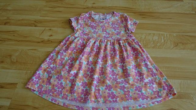sukienka letnia w rozmiarze 110