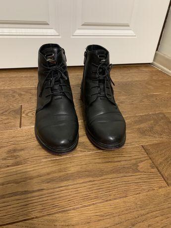 Жіночі шкіряні черевички стильні 38