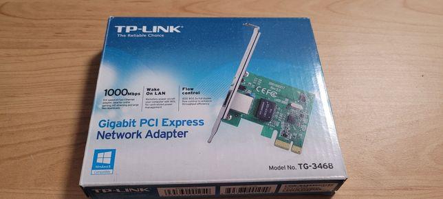 Karta sieciowa tp-link gigabit PC i express 1000 Mb na sekundę