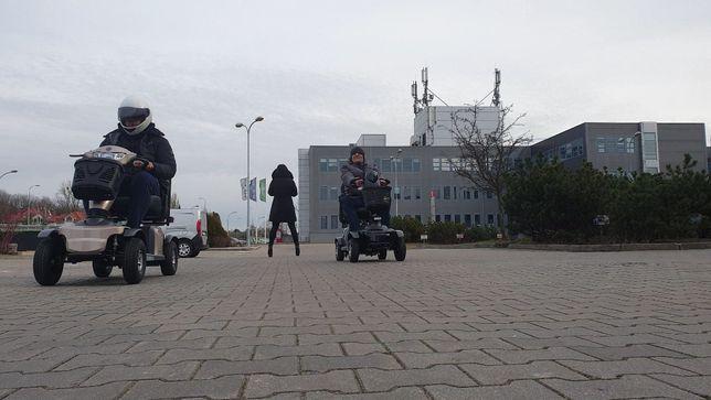 Skuter inwalidzki elektryczny Galaxy II refundacja