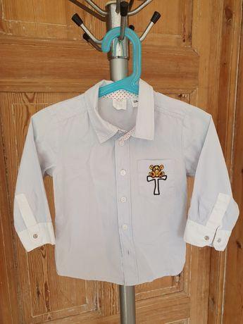 Koszula na długi rękaw H&M Disney,  motyw tygryska rozm 80