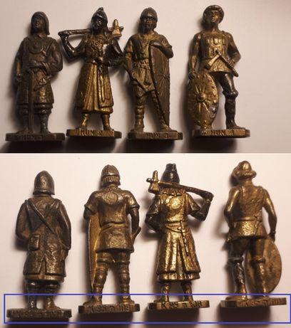 Metalowe Żołnierzyki z Kinder HUNy