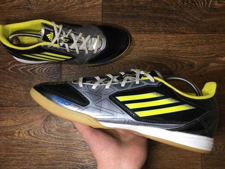 Футзалки Adidas F10 Original бампы сороконожки 46 размер