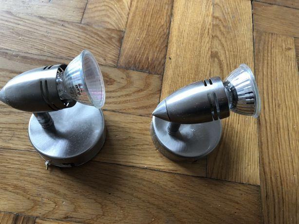 Lampki ścienne dwie