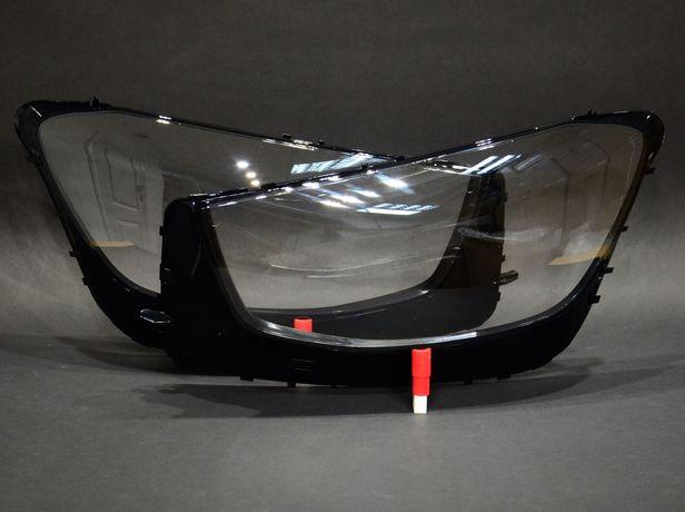 Стекло фары Mercedes Glc x253 2019-2022 Led Левое Правое