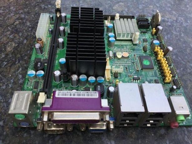 Материнка TE1090E N270 для MINI-ITX