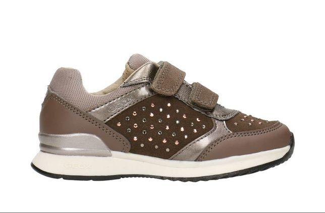 nowe sneakersy buty skórzane dziewczęce geox maisie 37 wk 23.5