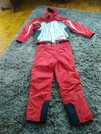 Narciarski kombinezon kurtka i spodnie męski
