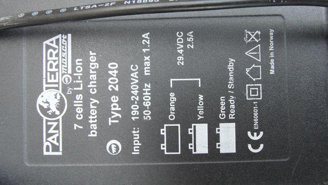 Ładowarka do baterii rowerowej 24 V