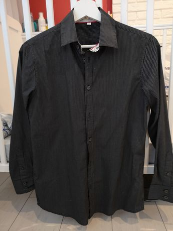 Elegancka koszula długi rękaw 158