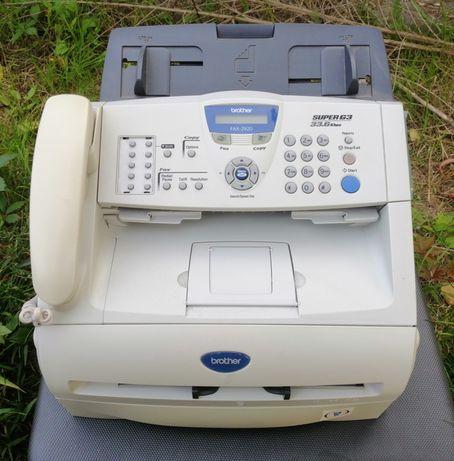 Fax stacjonarny Brother FAX-2920 sprawny + tonery też kserokopiarka