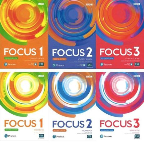 Focus 1,2,3,4 Second Edition