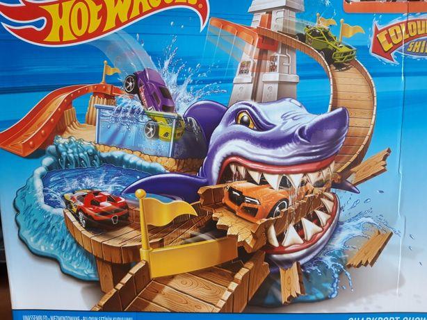Трек хот вилс hot wheels акула