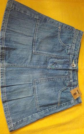 Jeansowa spodniczka 36
