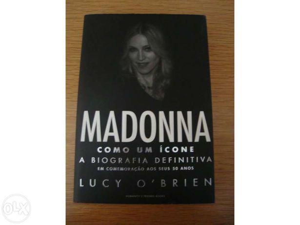 """Vendo livro """"Madonna - biografia definitiva"""""""