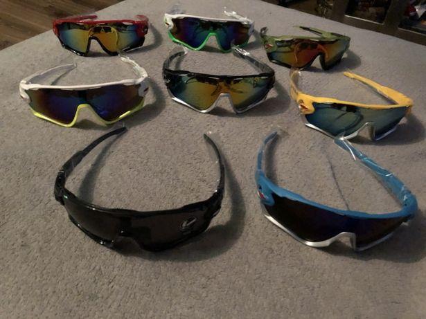 Okulary sportowe rower bieganie 8 kolorów