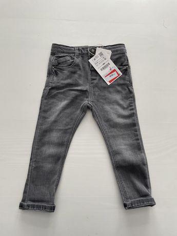 Spodnie jeansowe Zara nowe z metką 92