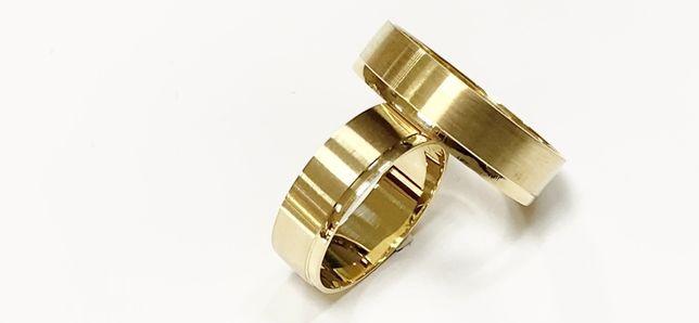 Producent Złote obrączki szer. 6 mm