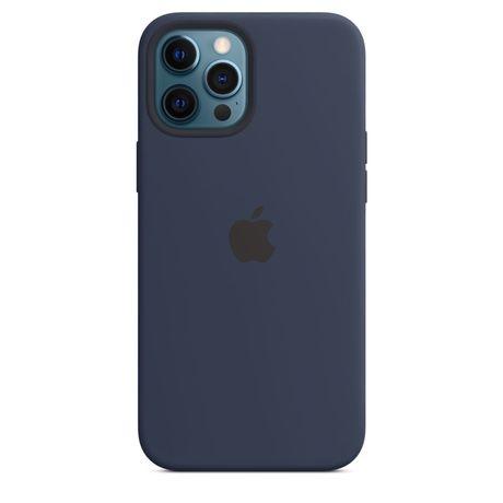 Новий Оригінальний Силіконовий Чехол Iphone 12 Pro Max Синій MagSafe