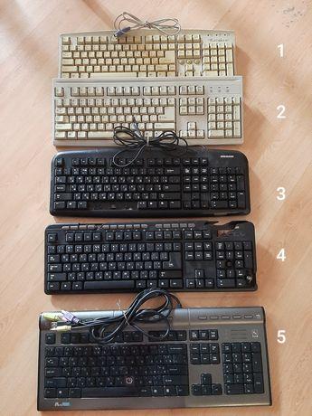 Клавиатуры (5 штук)